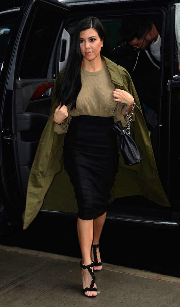 Kourtney Kardashian à New York