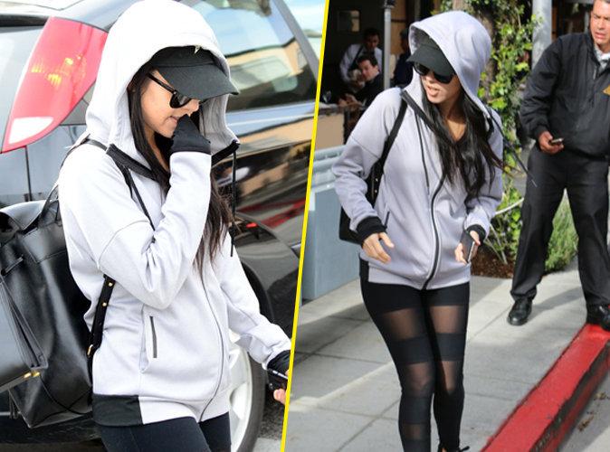 Kourtney Kardashian incognito