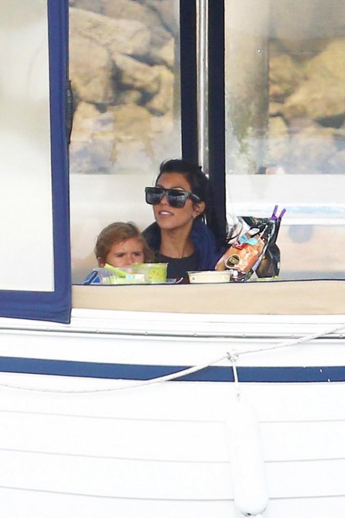 Kourtney Kardashian et ses enfants