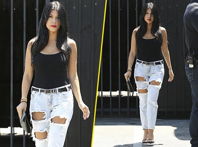 Kourtney Kardashian le 28 juillet 2015