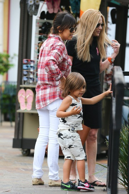 Kourtney Kardashian, Calabasas, 9 mai 2013