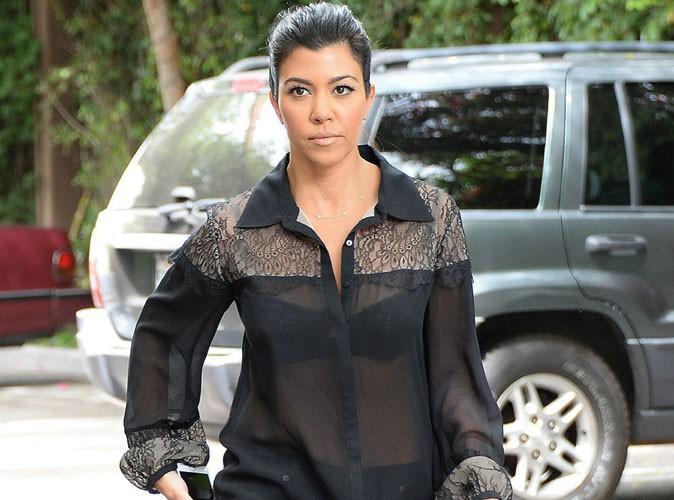 Kourtney Kardashian : nouvelle journée de tournage placée sous le signe de la transparence !