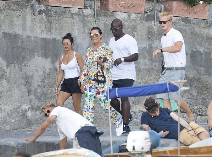 Photos : Kourtney Kardashian : Plus seule que jamais, elle part en vacances avec sa mère, Kris Jenner !
