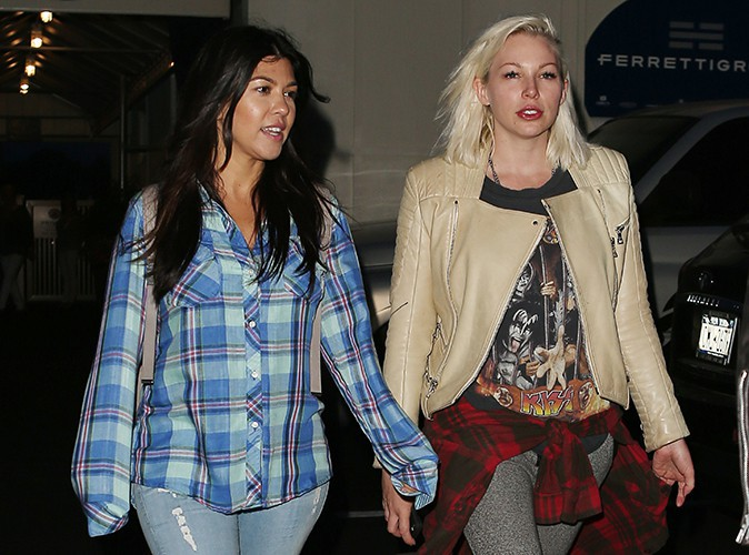 Kourtney Kardashian et son amie Joyce Bonelli dans les Hamptons le 4 juin 2014