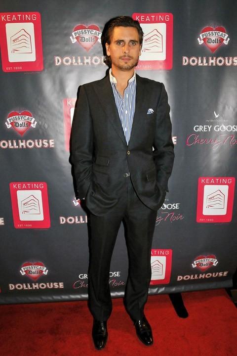 Scott Disick à Las Vegas le 1er septembre 2012