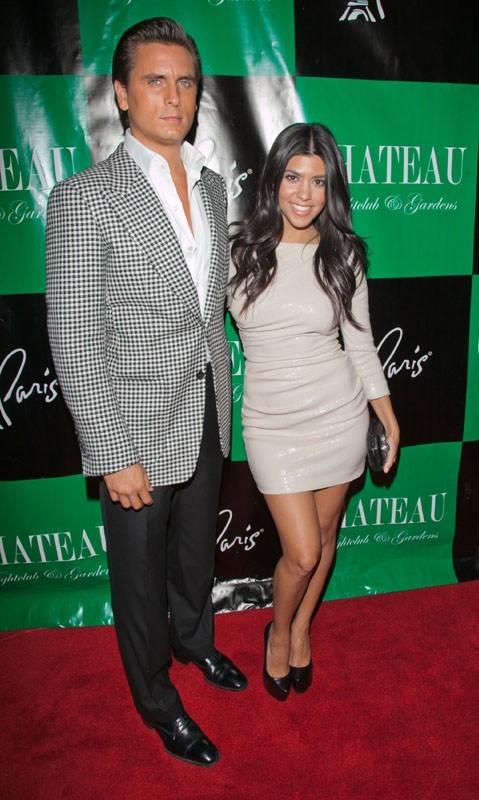 Scott Disick et Kourtney Kardashian à Las Vegas !
