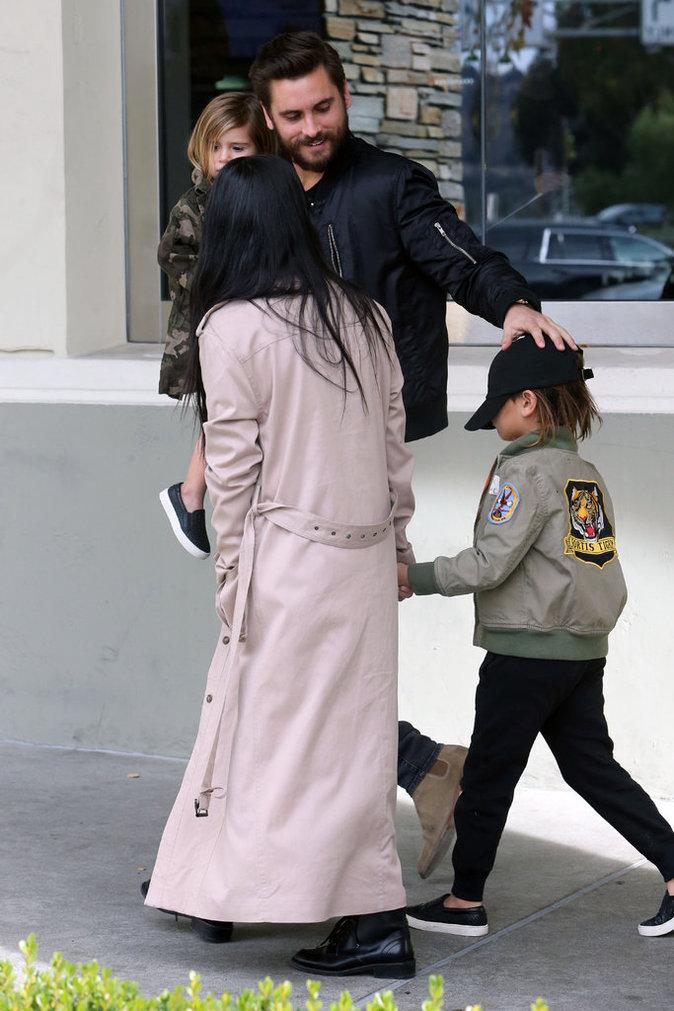 Kourtney Kardashian Scott Disick