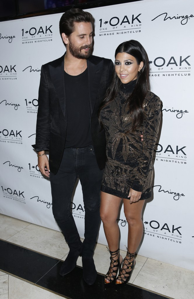 Kourtney Kardashian et Scott Disick le 23 mai 2015
