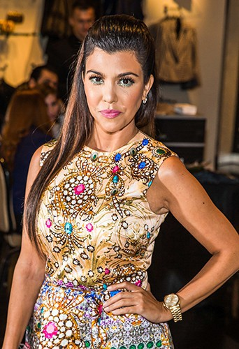 Kourtney Kardashian à Las Vegas le 31 août 2013