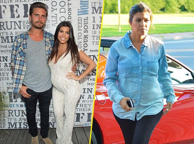 Kourtney Kardashian et Scott Disick le 10 août 2014