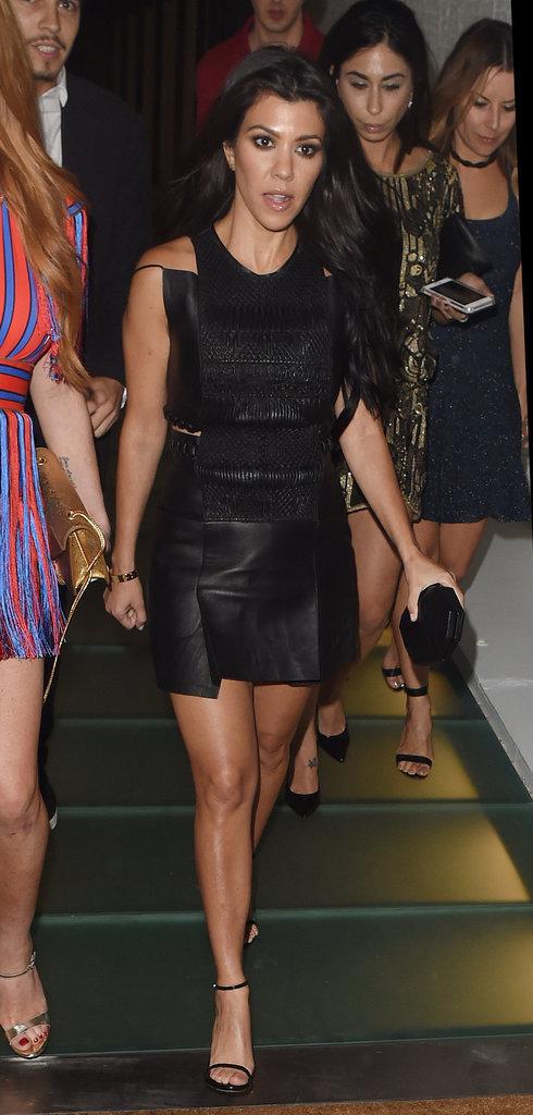Kourtney Kardashian : Virée nocturne avec sa nouvelle meilleure amie Lindsay Lohan !