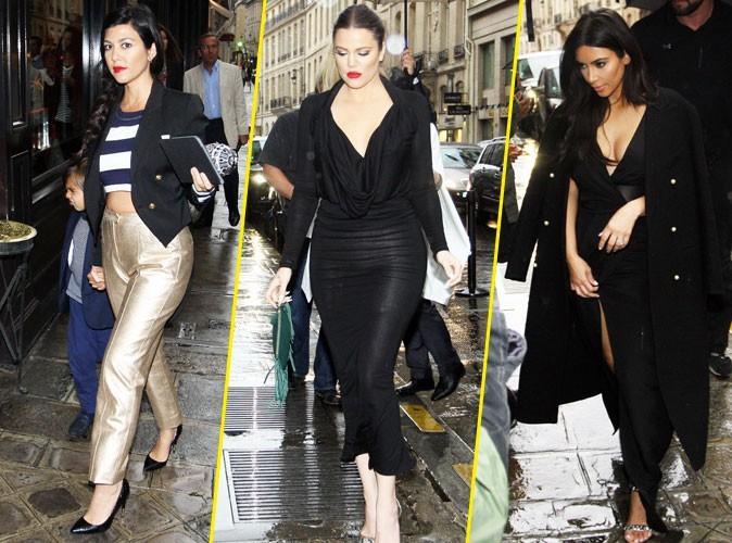 Photos : Kourtney, Khloé, Kris : elles retrouvent enfin Kim Kardashian à Paris avant une visite VIP de Versailles !