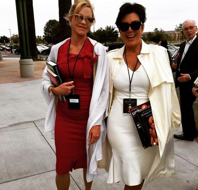 Kris Jenner et Mélanie Griffith