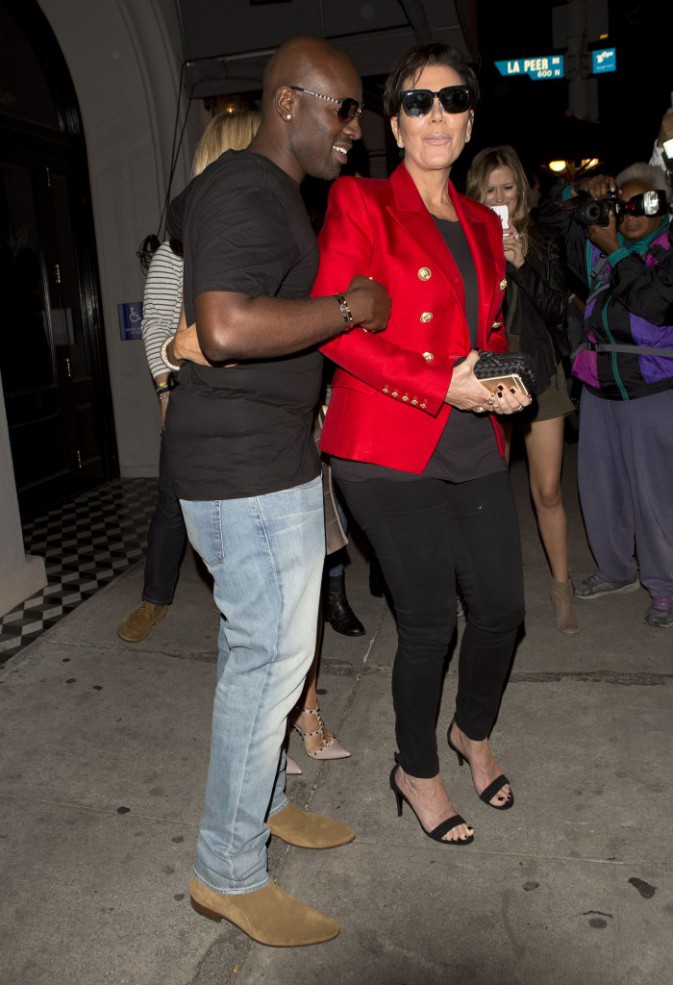 Kris Jenner et Corey Gamble le 20 mai 2015