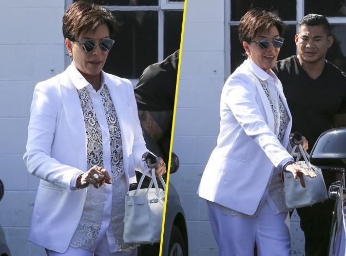Kris Jenner à Los Angeles le 8 septembre 2015