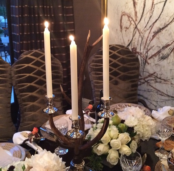 La table du clan Kardashian-Jenner !