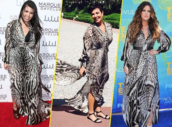 Kourtney Kardashian, Kris Jenner et Khloe Kardashian