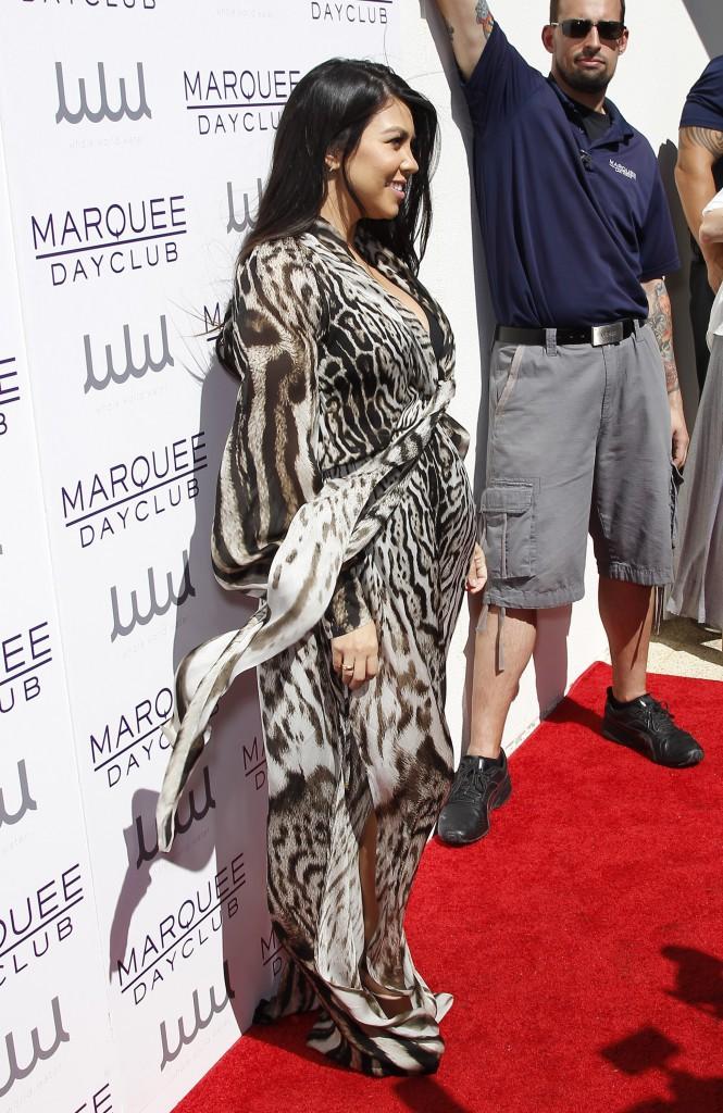 Kourtney Kardashian le 21 mars 2015