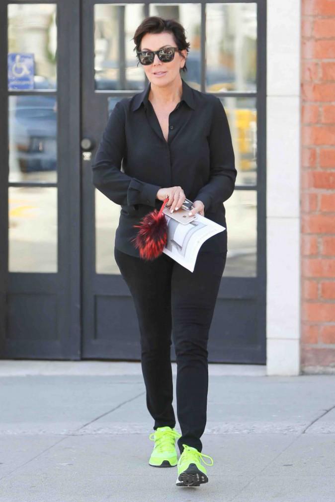 Kris Jenner : prise en flagrant délit de shopping... Pour Kylie ?