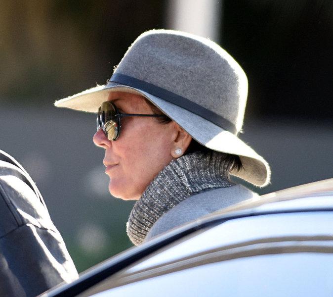 Photos : Kris Jenner : sortie en amoureux avec Corey Gamble