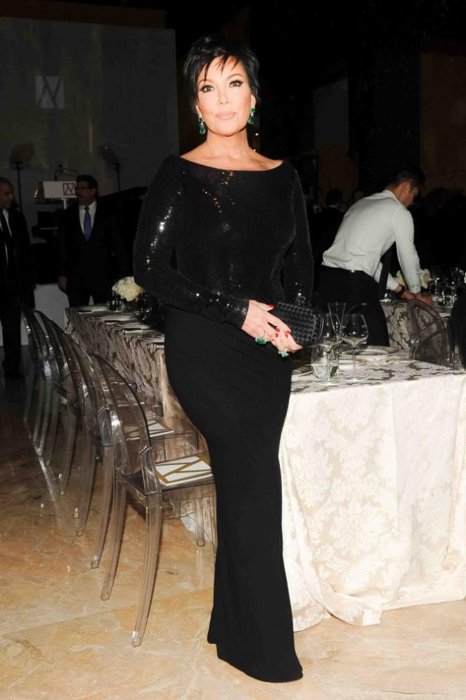 Kris Jenner : très élégante pour assister au New York Ball !