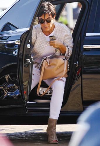 Kris Jenner à Los Angeles le 20 juin 2014