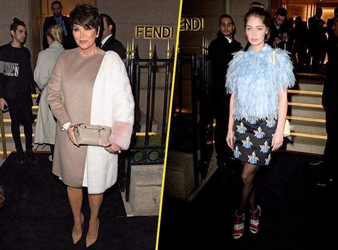 Photos : Kris Jenner VS Marie-Ange Casta : deux générations pour deux styles tout aussi glamour !