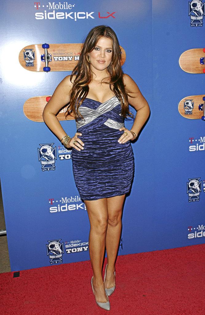 Khloé Kardashian avant