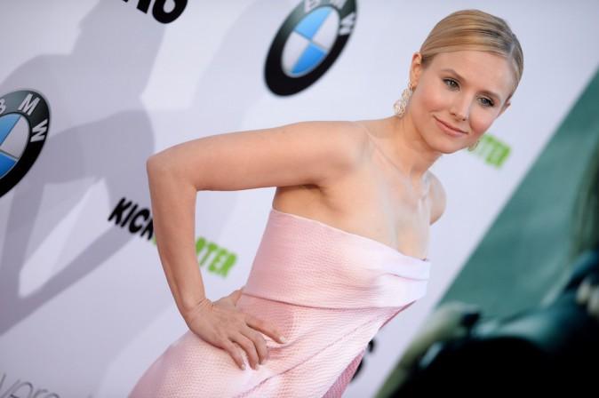 Photos : Kristen Bell : chicissime pour la première californienne du film Veronica Mars !