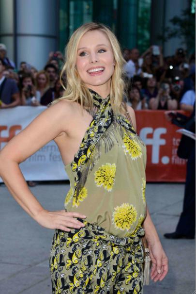 Kristen Bell : enceinte, elle soutient quand même son mari au festival du film de Toronto !