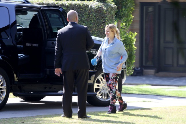Kristen Bell à Los Angeles, le 28 avril 2013.