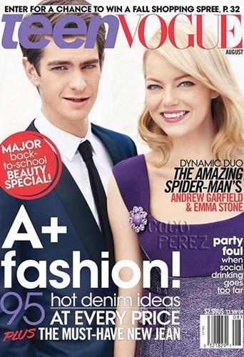Andrew Garfield et Emma Stone