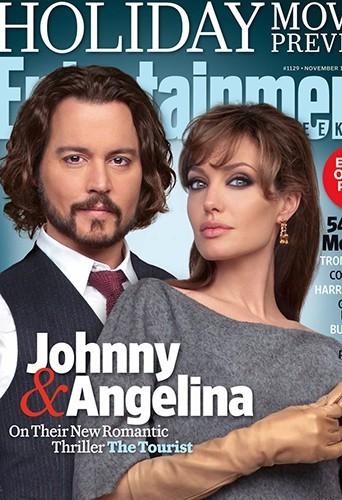 Johnny Depp et Angelina Jolie