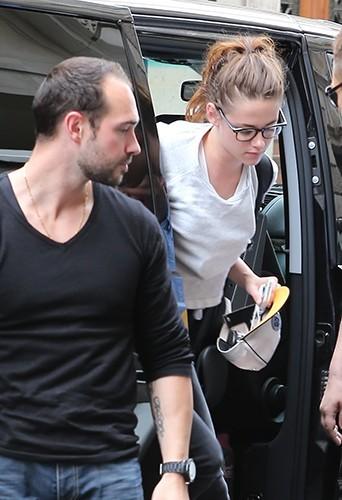 Kristen Stewart à Paris le 1er juillet 2013