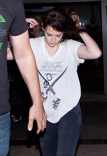 Kristen Stewart à Los Angeles le 5 octobre 2013
