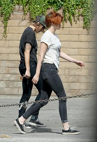 Kristen Stewart et Alicia Cargile à Los Angeles le 12 juillet 2014