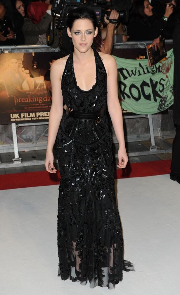 Kristen habillée en Alexander Mc Queen !