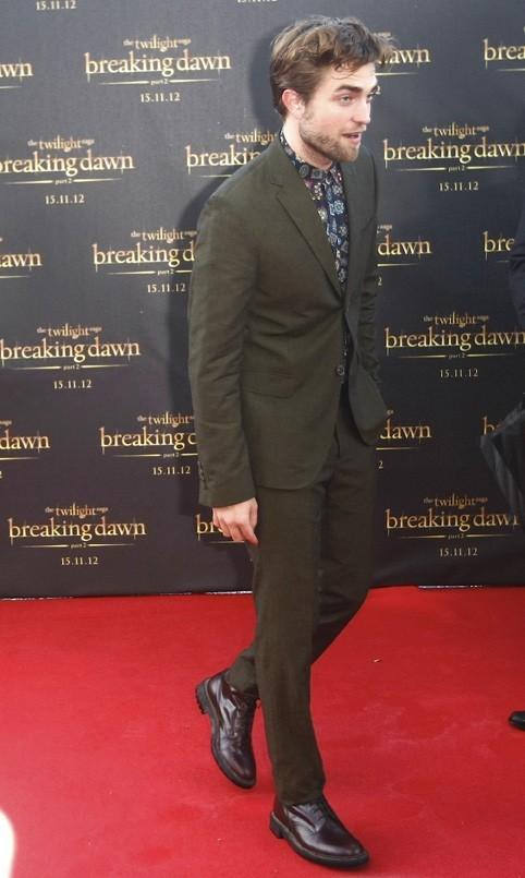 Robert Pattinson à Sydney le 22 octobre 2012