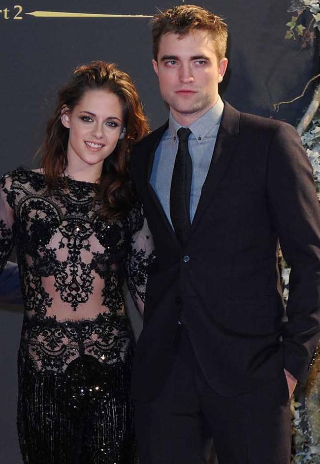 Kristen Stewart et Robert Pattinson le 14 novembre 2012 à Londres