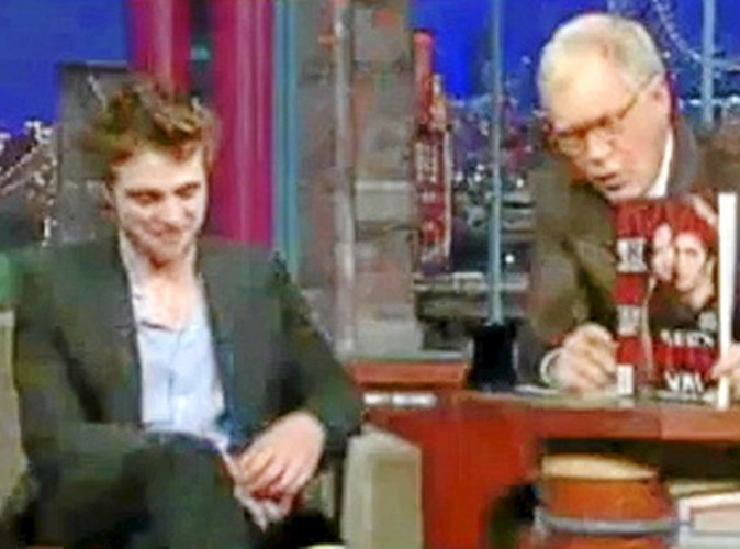 "Late Show with David Letterman le 08/11/11 : ""il montre des signes de gêne"""