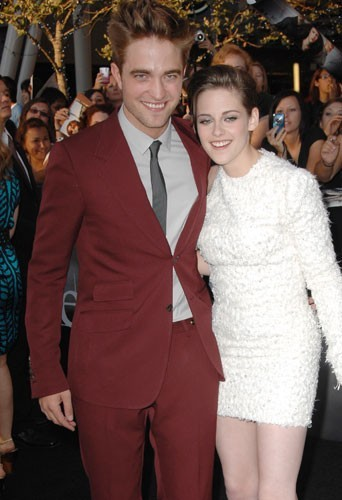 Kristen Stewart et Robert Pattinson en 2010