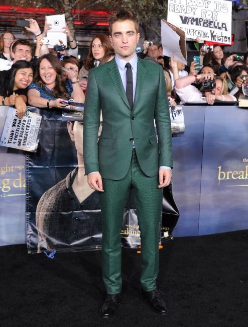 Robert Pattinson le 12 novembre 2012 à Los Angeles