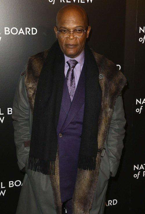 Samuel L. Jackson à New York, le 5 janvier 2016