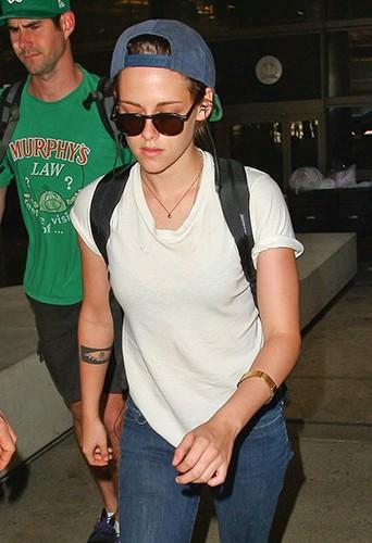 Kristen Stewart à Los Angeles le 27 septembre 2014