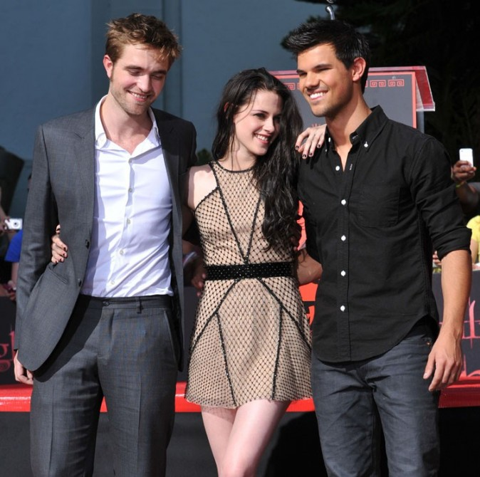Le trio de Twilight au Chinese Theatre !