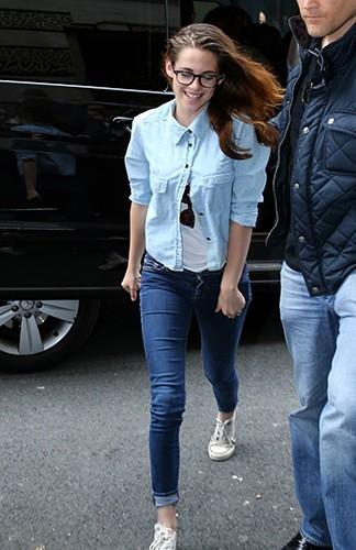 Kristen Stewart à Paris le 3 juillet 2013