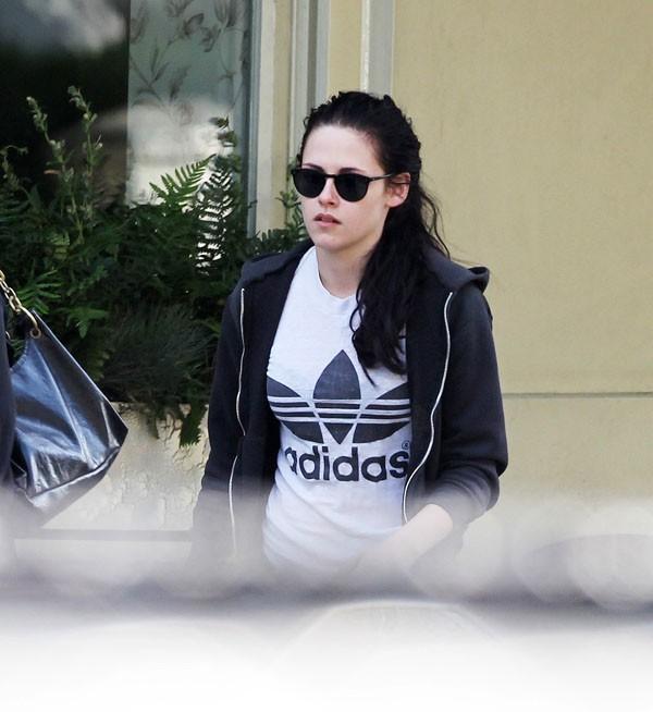 Kristen pas d'humeur à voir Robert repartir !