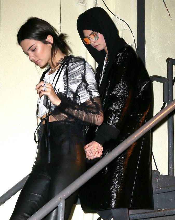 Kendall Jenner et Cara Delevingne
