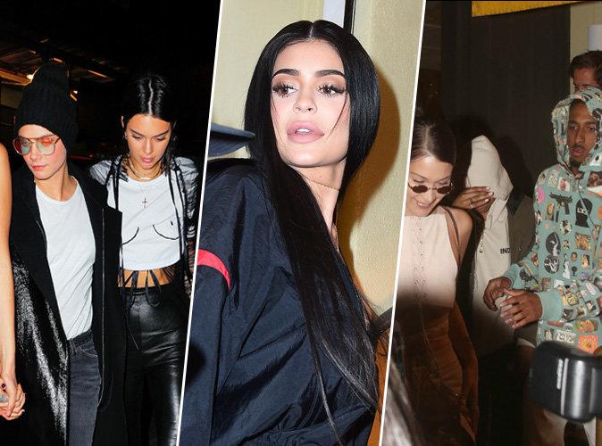 Photos : Kylie et Kendall Jenner, Bella Hadid, Cara Delevingne... Elles s'éclatent toutes à l'anniversaire de Travis Scott