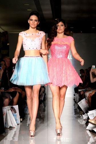 Kylie et Kendall Jenner, New York, 7 septembre 2012.